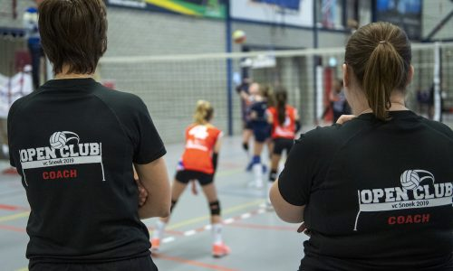 23-02-2019 NED: Semi finals NOJK girls C, Houten  216 teams participate in the semi finals of the Dutch Open Youth Championship